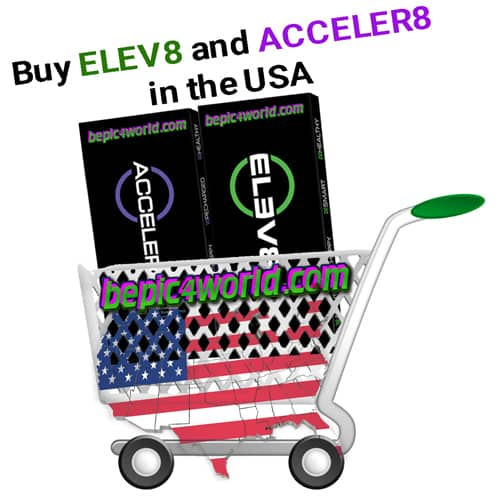 orders Elev8 & Acceler8 in the online store B-Epic USA