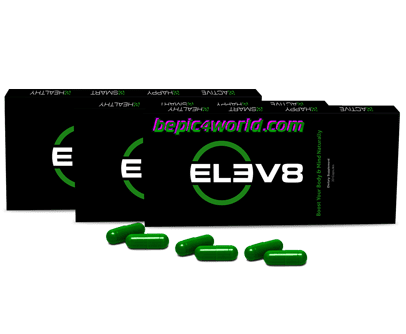 Packaging green capsules of the elev8