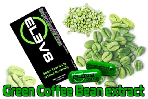 Green Coffee is an extract in capsules of Elev8