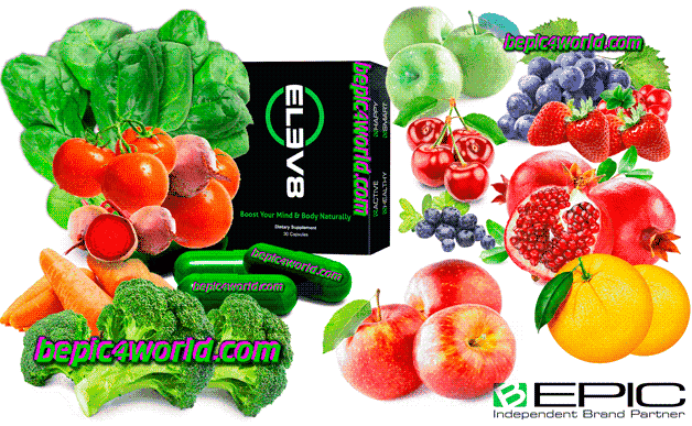 Vegetable and fruit extracts in Elev8 Extracts