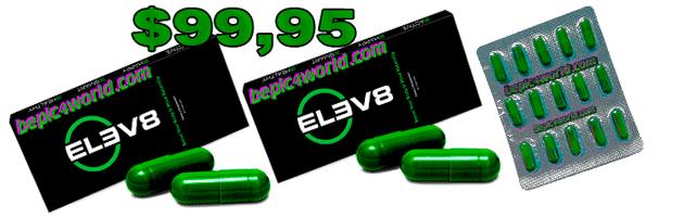 ELEV8 two package and Free 15 capsules