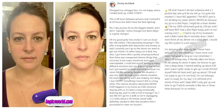 Christy's review about Acceler8 pills