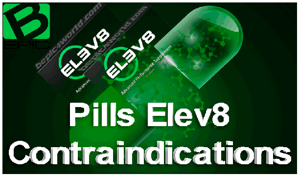 Contraindication for Capsules Elev8 of B-Epic