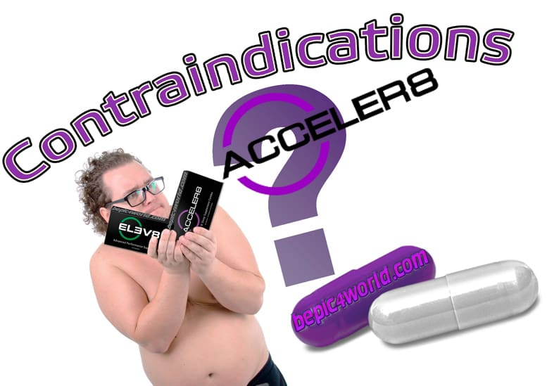 Contraindications for capsules Acceler8 of BEpic