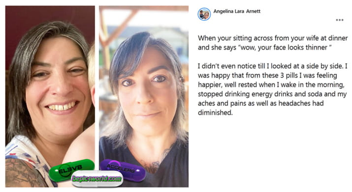 Feedback of Angelina about supplements of B-Epic