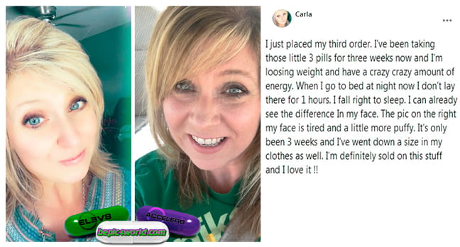 Feedback of Carla about supplements of B-Epic