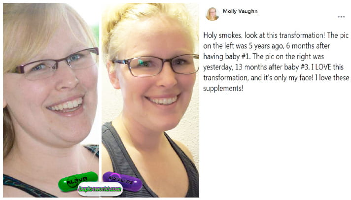 Feedback of Molly about supplements of B-Epic