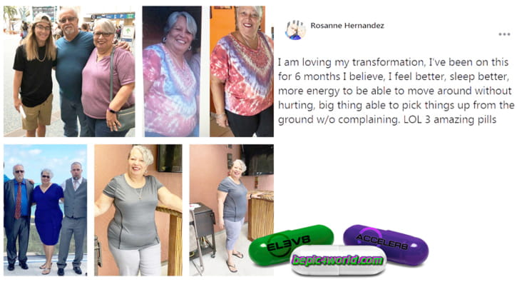 Feedback of Rosanne about supplements of B-Epic