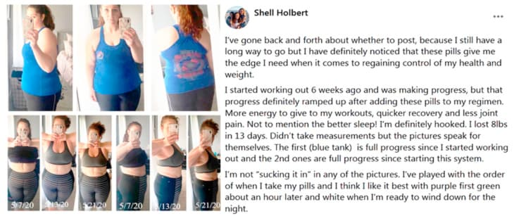 Review of Shell about the use of pills Acceler8 of BEpic to get weight loss