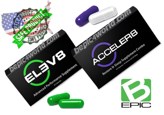 Elev8 and Acceler8 of B-Epic safe pills