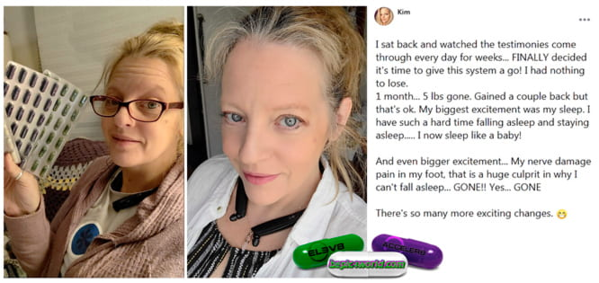 Kim writes about the use of 3 pills of B-Epic