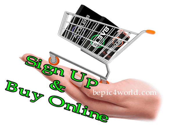 Sign Up and buy B-Epic products online now