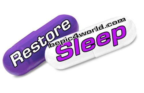 Acceler8 Restore pill and Sleep pill of BEpic