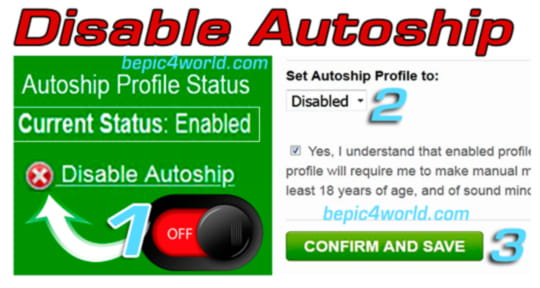 Disabling BEpic Autoship