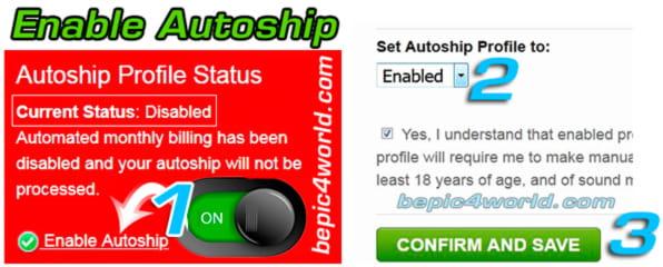 Enabling B-Epics Autoship