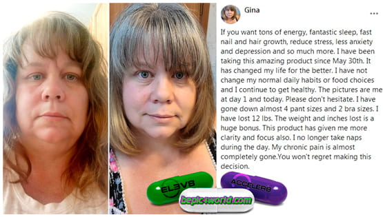 Feedback of Gina about products of B-Epic