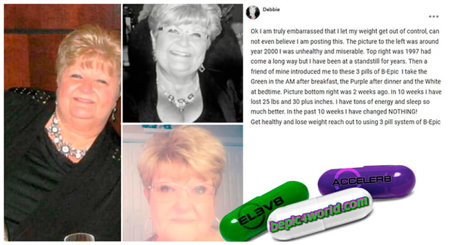 Debbie writes about 3 pill system of B-Epic