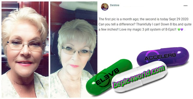 Debbie writes about using 3 pill system of B-Epic
