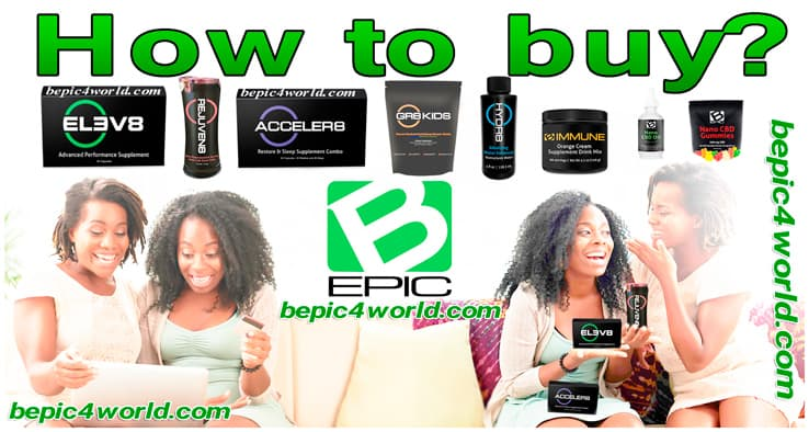 How to buy products B-Epic Elev8 and Acceler8 pills