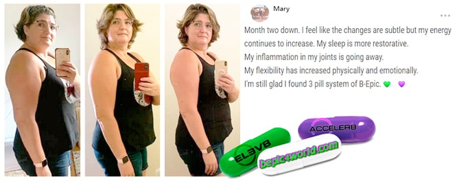 Mary writes about 3 pill system of B-Epic