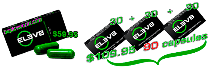 capsules ELEV8 product of B-Epic