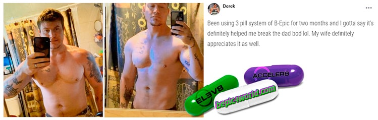 Derek writes about 3 pill system of B-Epic