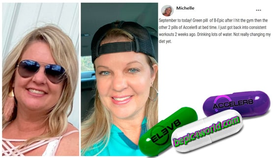 Michelle writes about pills of B-Epic to get weight loss