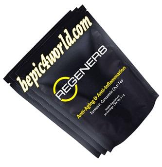Regener8 anti-aging and anti inflammation chai tea B-Epic
