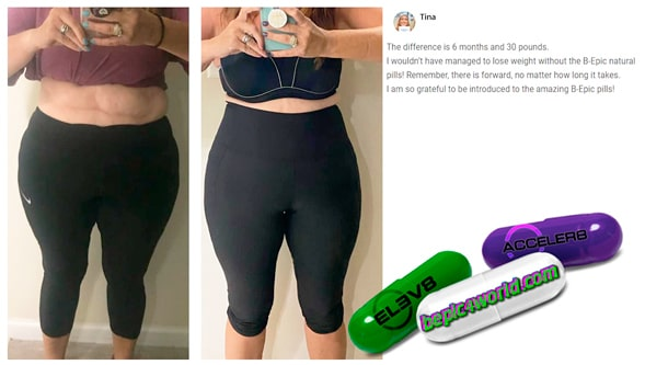 Tina writes about pills of BEpic to get weight loss