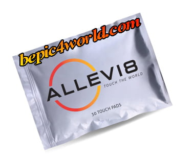 Aromatic-Touch Pads ALLEVI8 by B-Epic