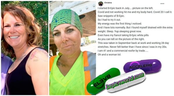 Christine writes about using pills of B-Epic