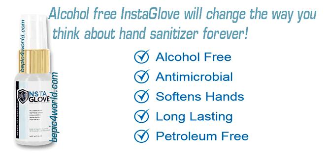InstaGlove spray effectiveness