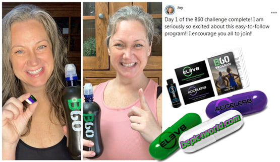 Joy writes about B-Epic program B60 challenge