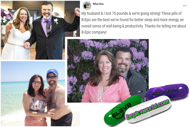 Marsha writes about using pills of B-Epic to get weight loss