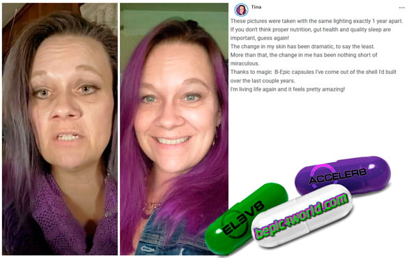 Tina writes about using B-Epic capsules