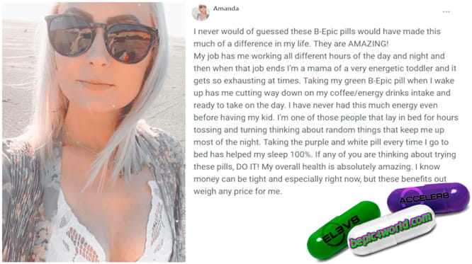 Amanda writes about B-Epic pills