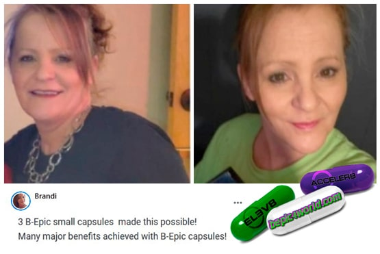 Brandy review about the benefits of B-Epic capsules