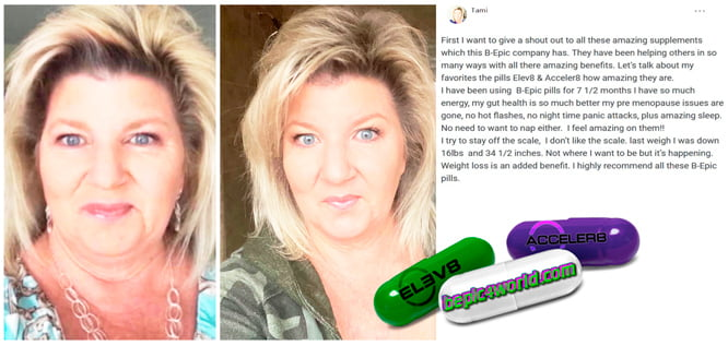 Tami writes about pills of B-Epic to get weight loss