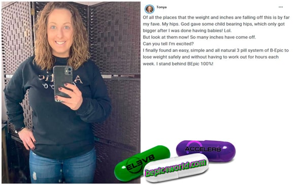 Tonya writes about 3 pill system of BEpic