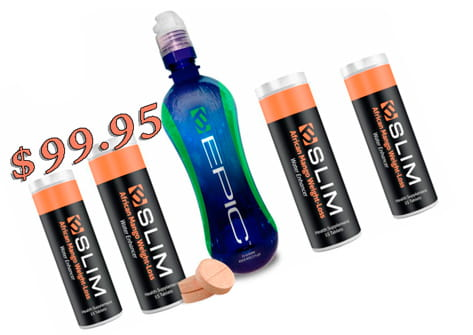 B-SLIM Customer Double Pack 4 containers 60 tablets Bottle