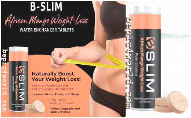 B-Slim B-Epic TABLETS for Weight Loss with African Mango