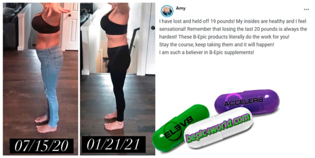 Feedback of Amy about B-Epic products