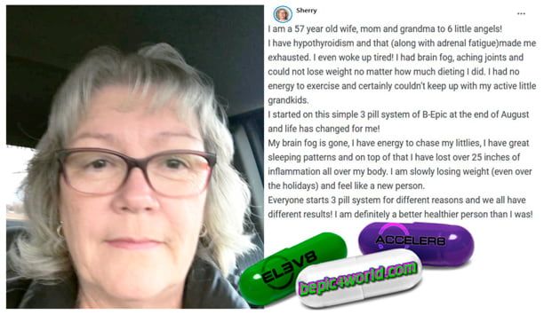 Sherry writes about using 3 pill system of BEpic