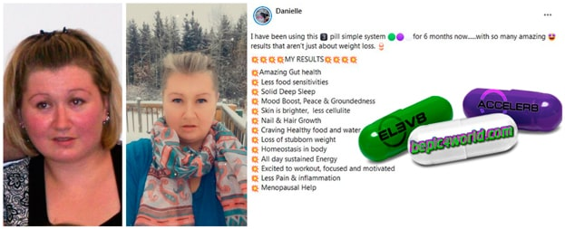 Danielle writes about the benefits of 3 pill system of B-Epic