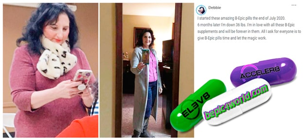 Debbie writes about B-Epic pills to get weight loss