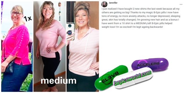 Jennifer writes about B-Epic pills to get weight loss