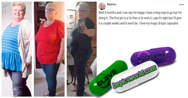Marion writes about B-Epic capsules to get weight loss