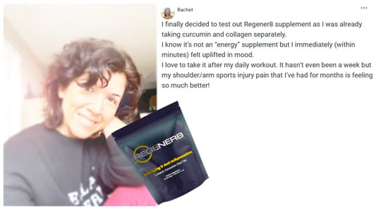 Rachel writes about B-Epic Regener8