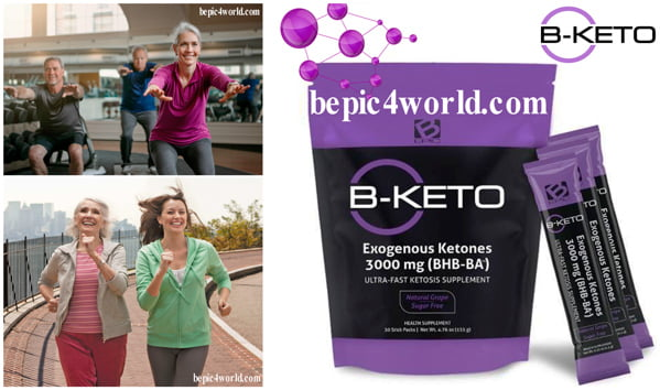 B-KETO ultra-fast for ketosis supplement by B-Epic