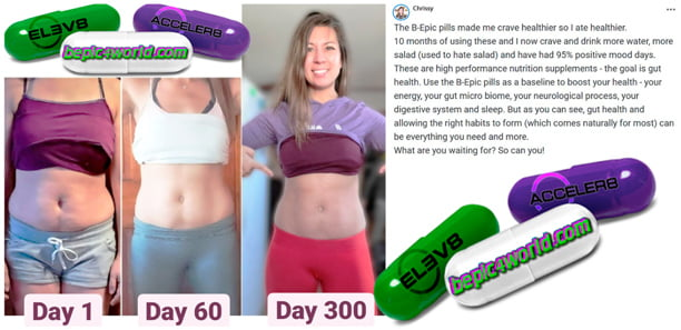Chrissy writes about the benefits of B-Epic pills